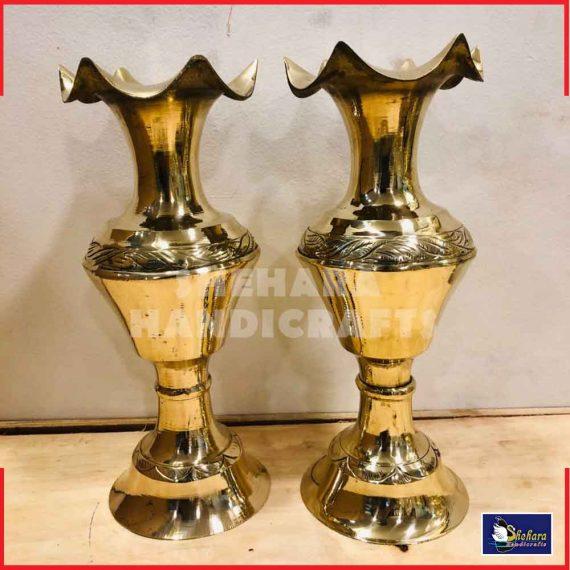 brass flower vass/ pot